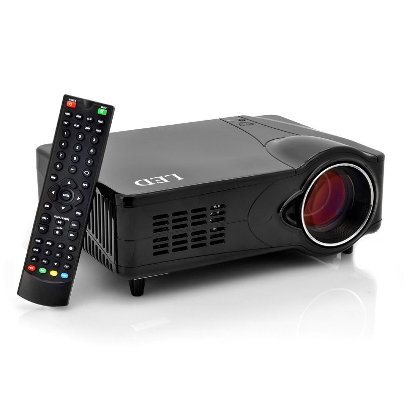 LED Multimedia Projector - 1000:1, 800x600, 2200 Lumens
