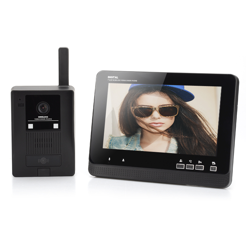 wireless-video-door-phone-7-inch-lcd-monitor-auto-record-function