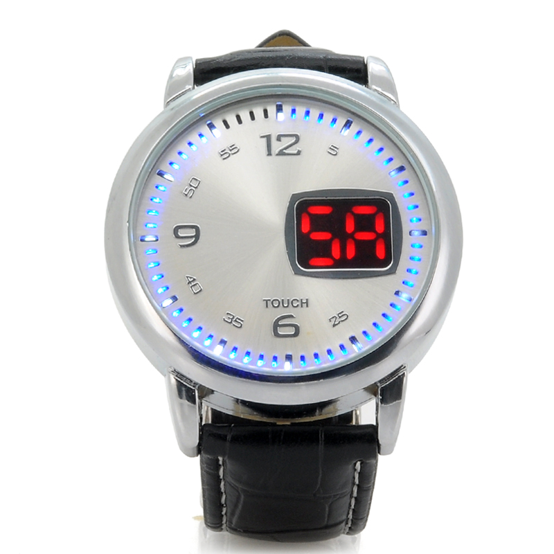 led-touch-watch-chess-leather-strap-led-time-display-white