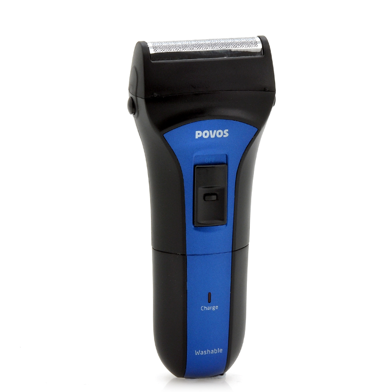 rechargeable-electric-shaver-for-men-povos-ps2208-dual-blade-trimme