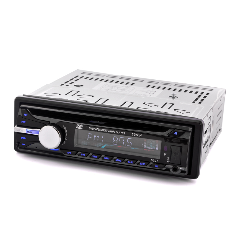 1 DIN Car DVD Player 'Cruiser' - FM/AM Radio, Detachable Panel, Front USB Port
