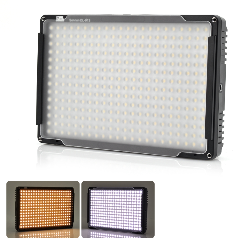 pixel-sonnon-dl-913-professional-photography-led-light-support-wirel