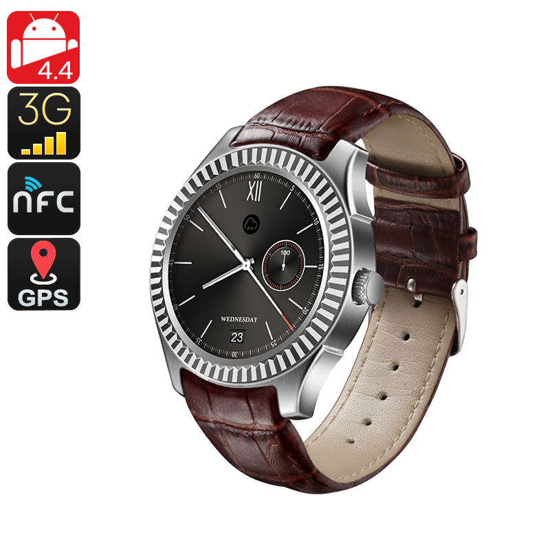 No.1 D7 Bluetooth Watch Phone - Android