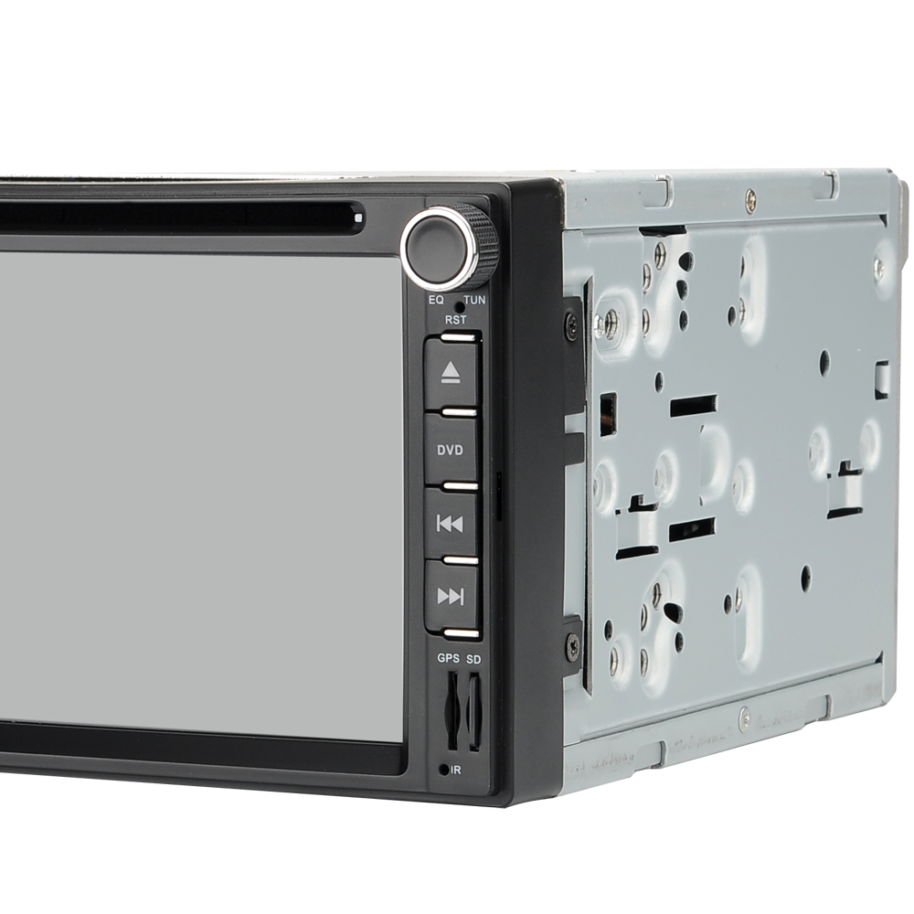 Image of 2 DIN 6.2 Inch Touchscreen Car DVD Player - Quad-Core CPU, 1GB RAM, Android 6.0, 3G Support, WIFI Bluetooth FM GPS