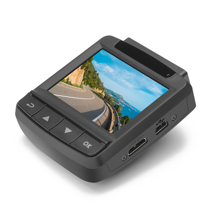 Image of Ordro X2 1080P Car DVR - 2.4 Inch LCD Screen, 130 Degree Angle Lens, GPS, Motion Detection, 32GB Micro SD Card Support, HDMI