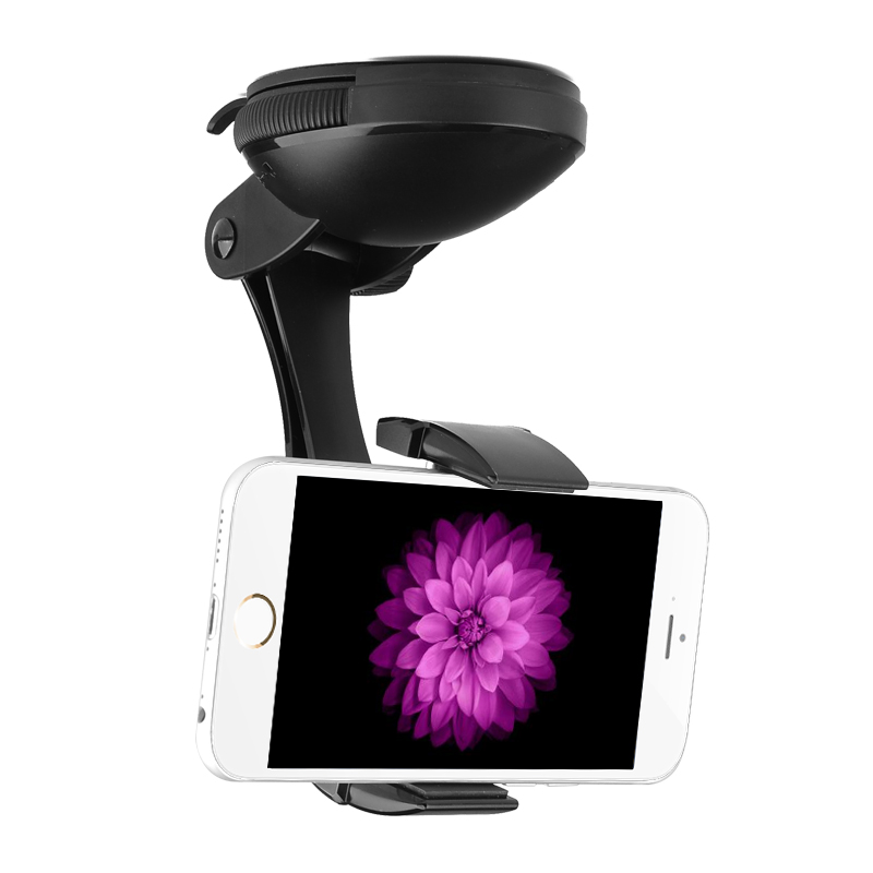 Universal Car Phone Holder 'JPMax Pro' - 360 Degree Rotation, Suction Cup + Twist Lock CVAGF-A550