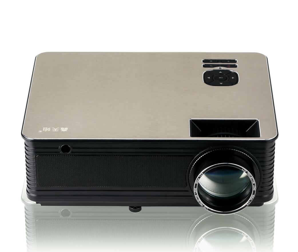 M5 3000 Lumens LED Projector - 5.8 Inch LCD Panel, 2000:1 Contrast Ratio, 1920x1080 DPI Resolution