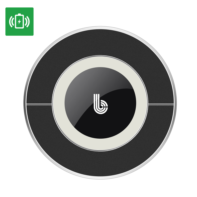 Qi Wireless Charging Dock - Qi Charging Standard, Android and iOS Support, LED Indicators