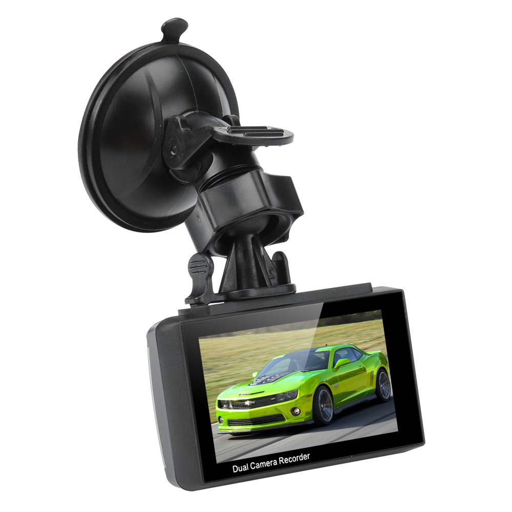 Image of Ordro Q503 Full HD Car DVR + Parking Camera - 1/3 Inch CMOS, 1080P HD, 3 Axis G-Sensor, Loop Recording, Motion Detection
