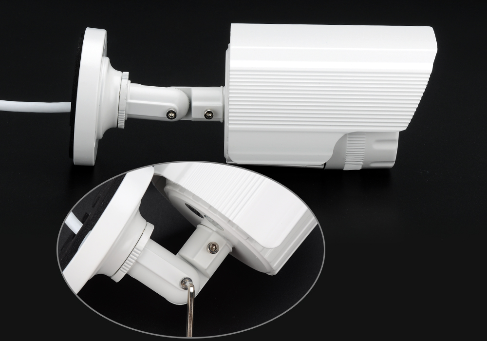 Image of Mini IP Security Camera - 4MP, 1/3 Inch CMOS Sensor, IR Cut, Night Vision, Motion Detection, Mobile Support, ONVIF 2.0