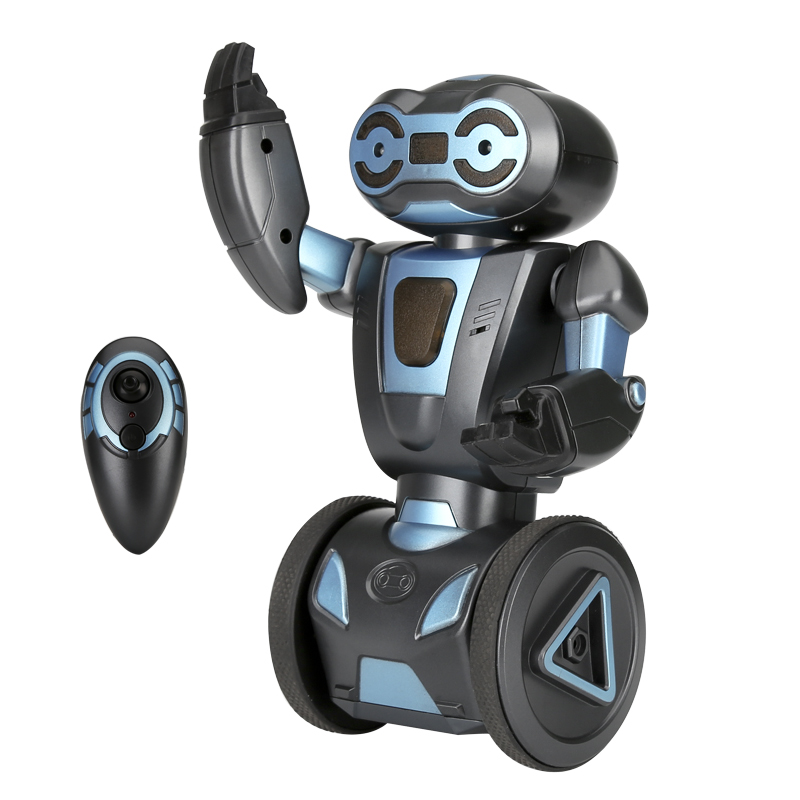 HG 2.4G Auto Balance RC Stunt Robot - Four Characteristics, Load Bearing, Dancing and Singing, Smart Gesture Sensors, Fight Mode