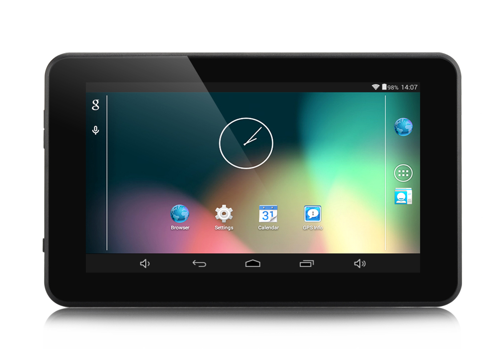 Image of 7 Inch Android 4.4 GPS Navigation - 800x480 Touchscreen, FM Transmit, 32GB Micro SD Card Support