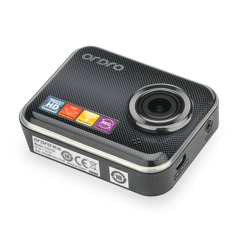 Image of ORDRO Q505W 1080P Car DVR - Wi-Fi, G-Senesor, 160 Degree Lens, 1/3 Inch CMOS, Loop Recording, Unieye App Support