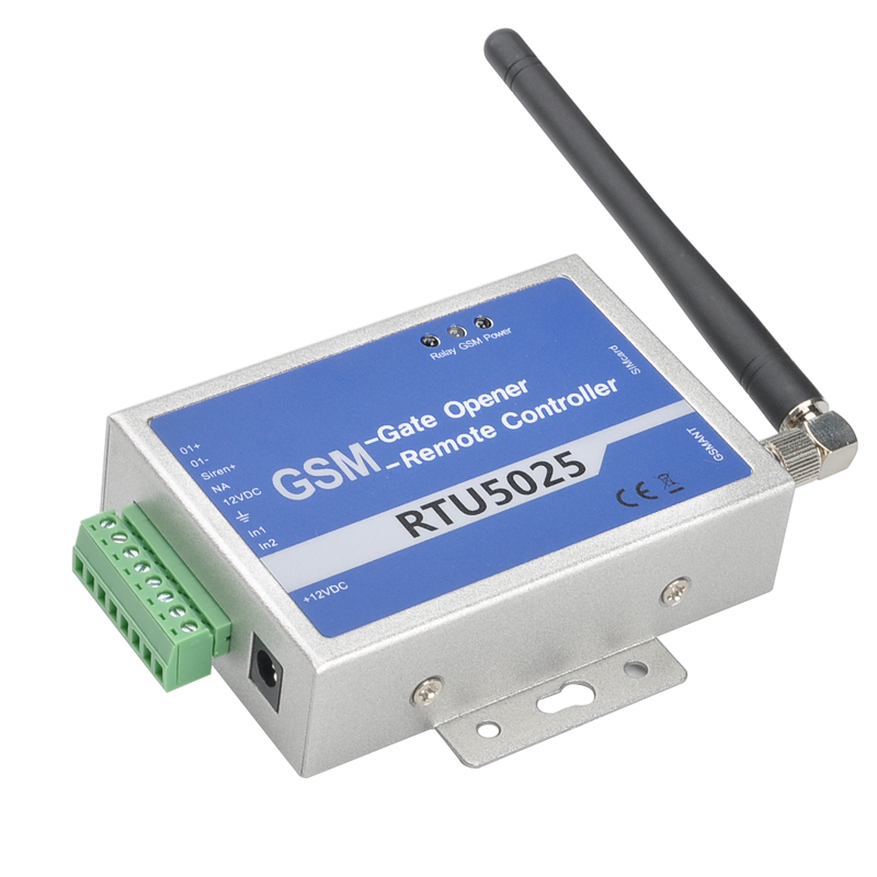 GSM Relay Controller - Quad Band GSM, Support 64 Authorized Numbers, No Call Fees (Blue) CVABR-A646-Blue