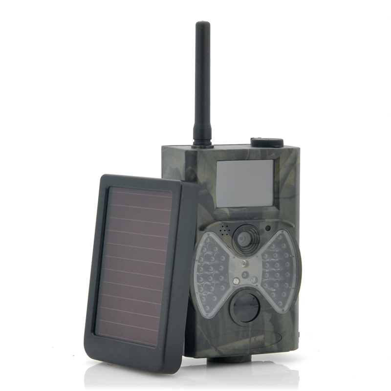 Game Hunting Camera With Solar Panel 'Solar-Shot' - 1440x1080, PIR Motion Detection, Night Vision, MMS Viewing CVZM-OG28