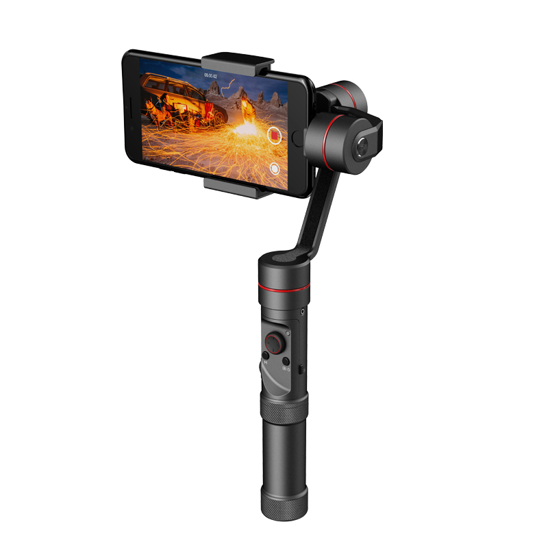Zhiyun Tech Smooth 3 Smartphone Gimbal - For 6-Inch Phone, Supports GoPro Hero Cameras, 26650mAh, App Support, Charging Mode
