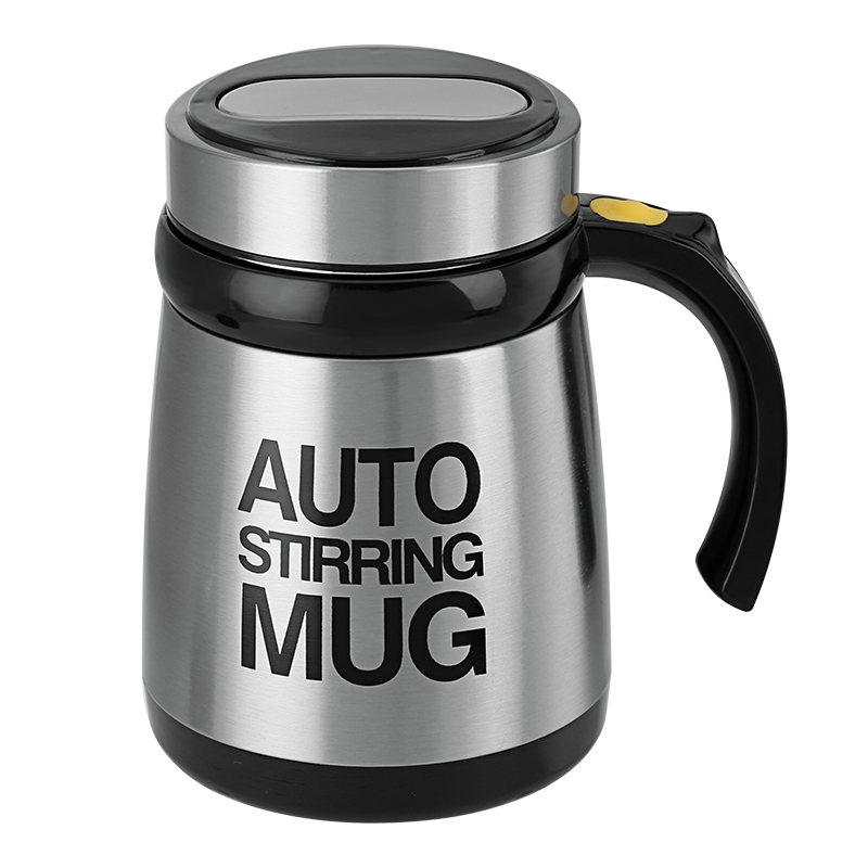 Automatic Stirring Mug - 400ml, 2x AAA Battery, Stainless Steel, Multifunctional CVABR-I547