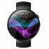 LEM M7 Android Smart Watch - 4G, 1.39 Inch Touch Screen, Pedometer, Heartrate Sensor, Android 7.0, 2MP Camera (Black