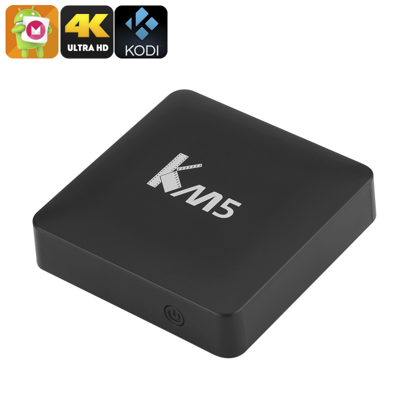 KM5 Android TV Box - Android 6.0